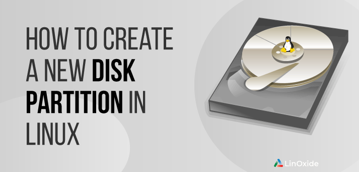 create new disk partition linux