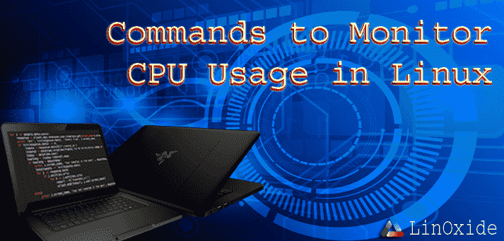 Command CPU check usage linux