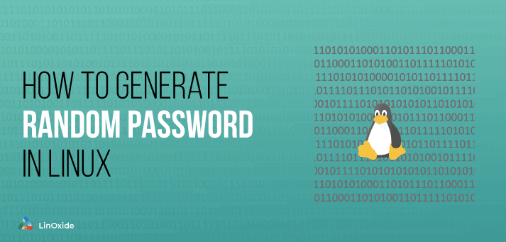 linux generate random password
