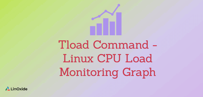 Tload Command - Linux CPU Load Monitoring Graph