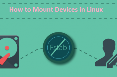 mount external disk linux