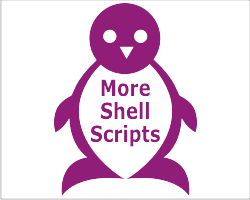 more shell scripts