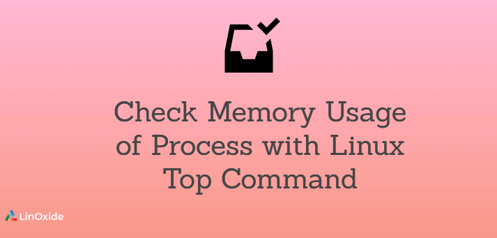 Check Memory Usage of Process with Linux Top Command