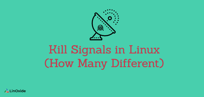 Kill Signals in Linux (How Many Different)
