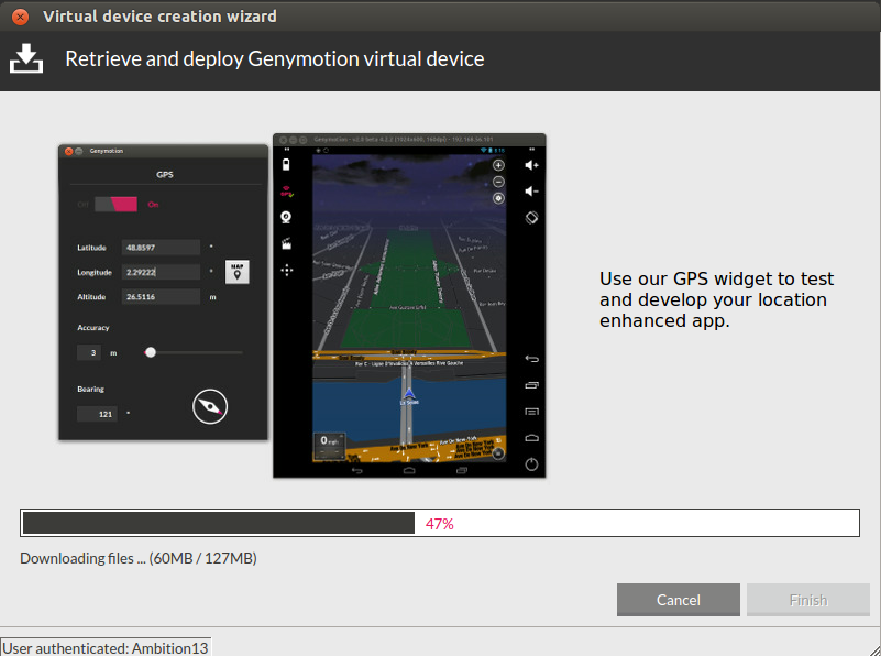 How to Install and Use Genymotion Android Emulator In Ubuntu