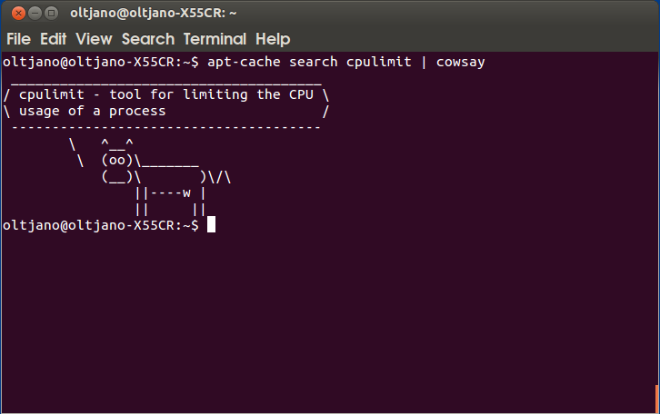 how to limit the cpu usage of a process in linux with the cpulimit tool