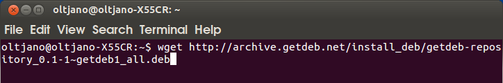 how to install applications from the web browser in ubuntu