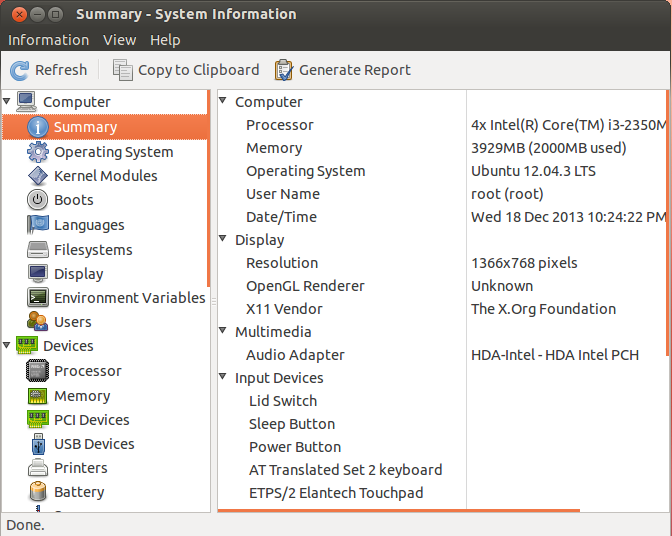 How To Install HardInfo System Information Tool In Ubuntu