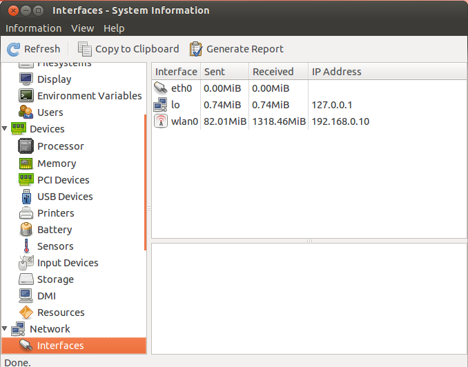 how to get hardware system information in ubuntu