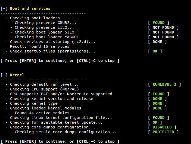 Lynis - Security Tool for Audit and Hardening Linux/Unix Systems