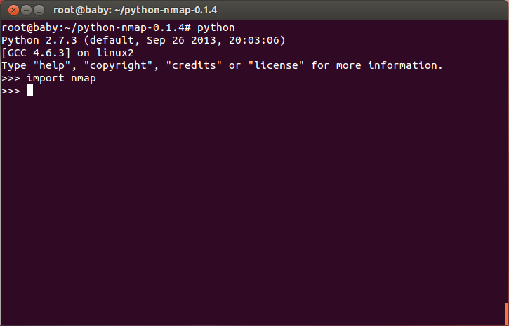 how to install python-nmap in linux