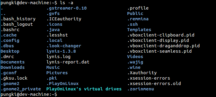 ls Command in Linux for Listing Files