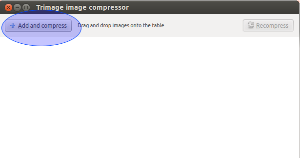 how to optimize images in linux