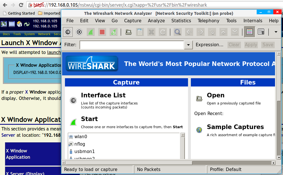 Wireshark application