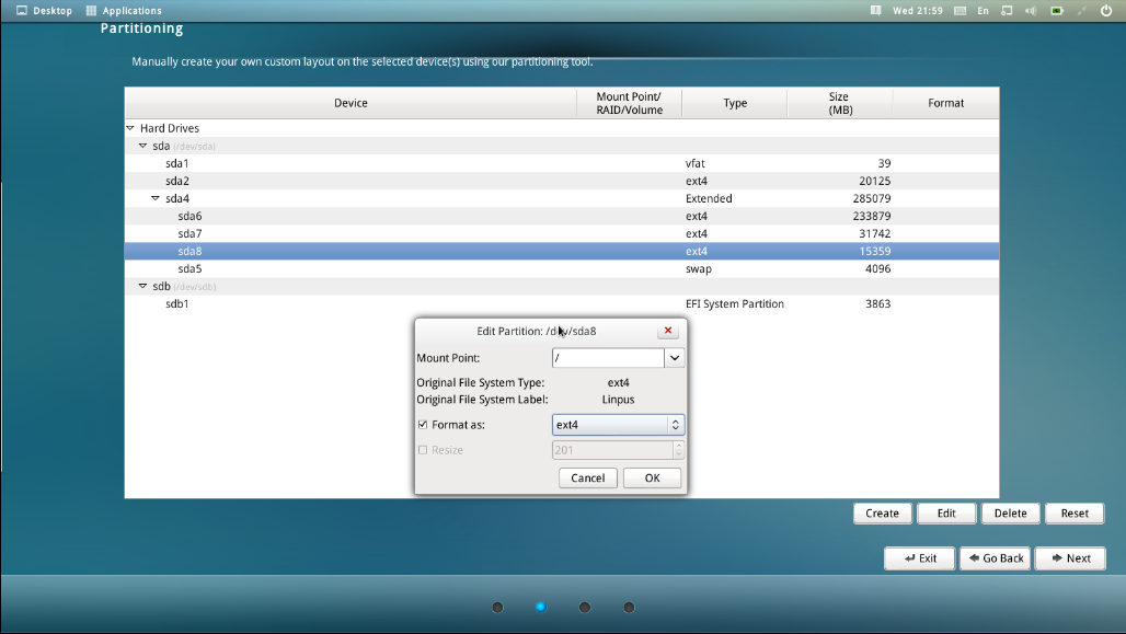Partition Tool Make Root Partition