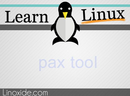 pax tool linux
