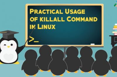 pratical use killall linux command