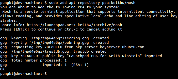 Mosh Tool - An Alternative Option for SSH and How to Use It