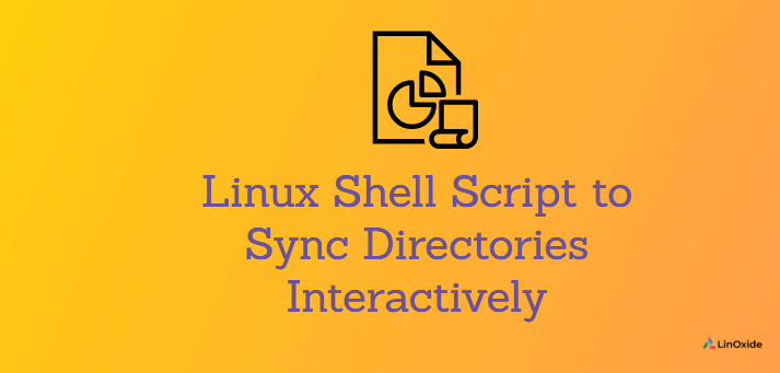 Linux Shell Script to Sync Directories Interactively
