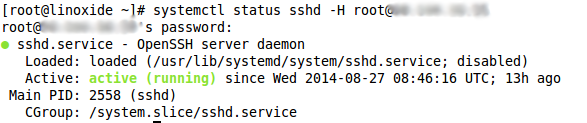 Manage remote system