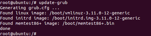 how to fix grub error in linux