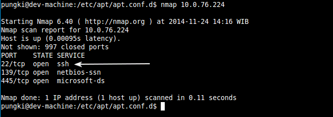 How to Hide Appplication Port Using knockd in Linux