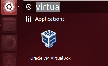 Launch VirtualBox