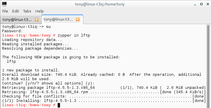 How to Setup lftp - A Simple Command line FTP Program