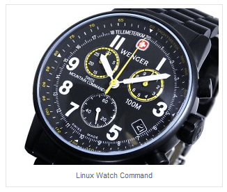 Watch repeat linux unix command regular intervals for Linux watch