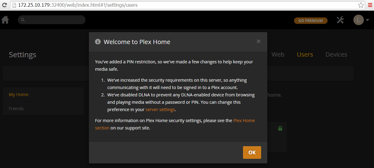 Welcome To Plex