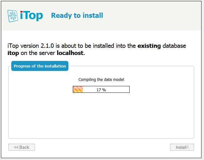iTop Installation Process
