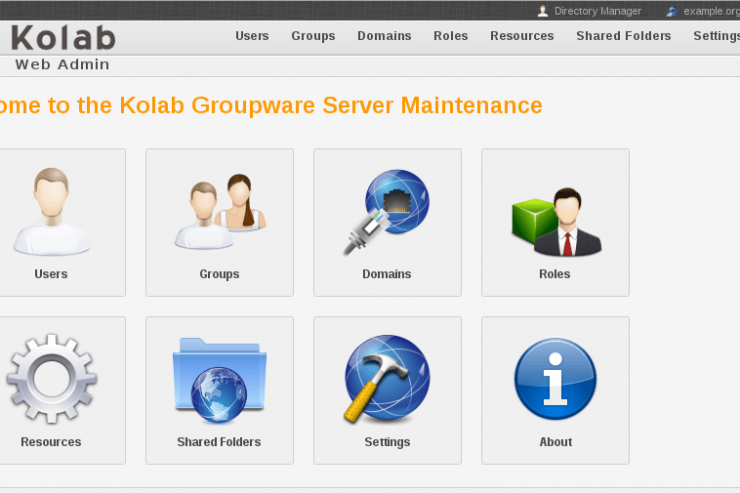 Kolab Server Maintenance