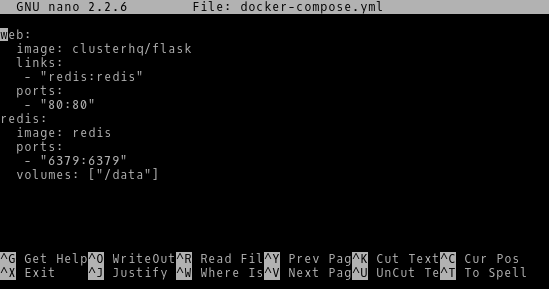 Configuring Docker Compose