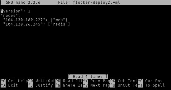 Configuring Flocker Deploy2