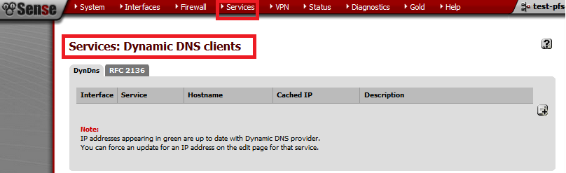 services-dynamic dns client