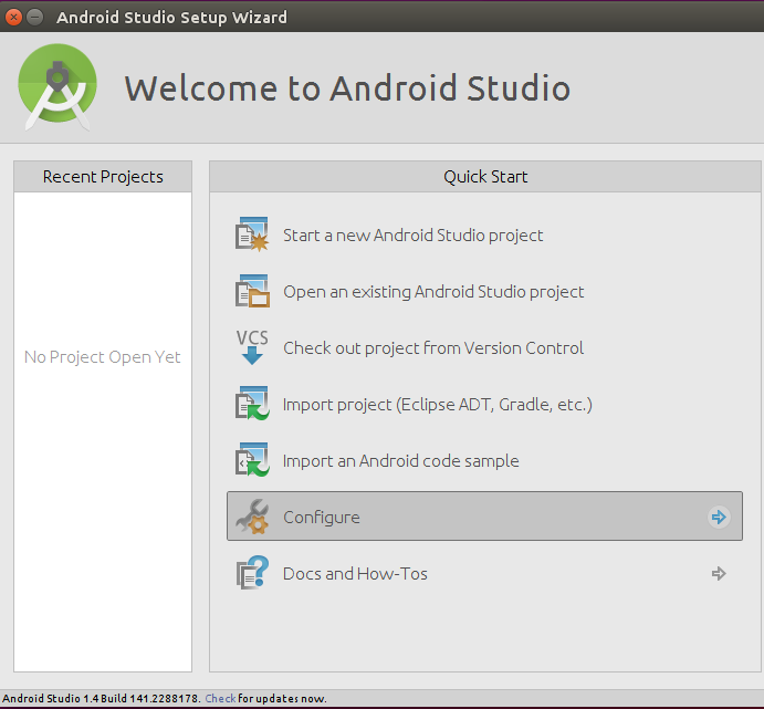 How to Install Android Studio on Ubuntu 15 04/CentOS 7