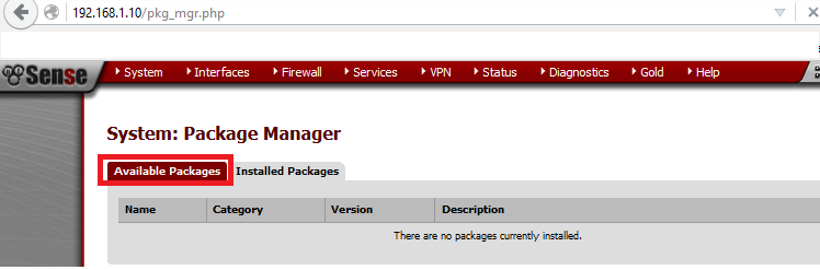 availablepackage