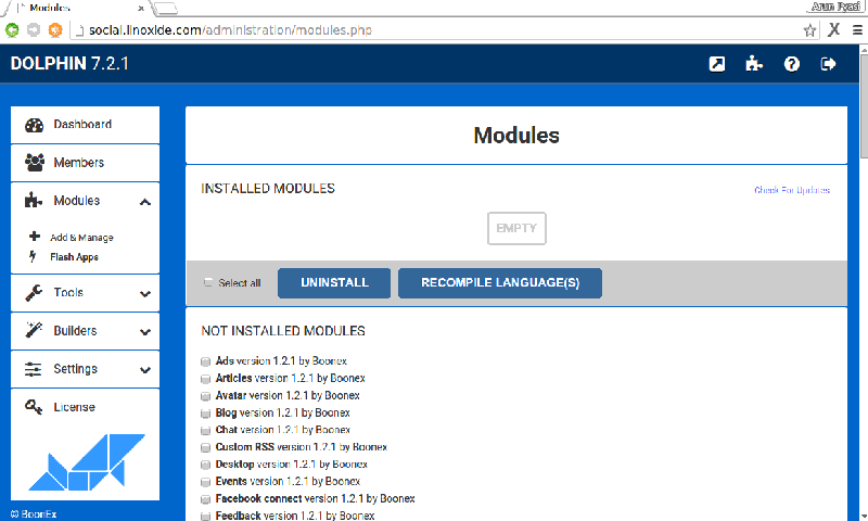 Dolphin Modules Page