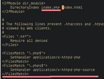 Configure Apache and PHP