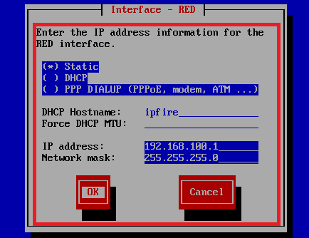 red ip address