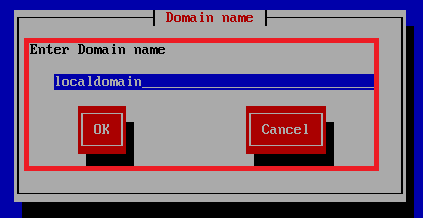 setting local domain