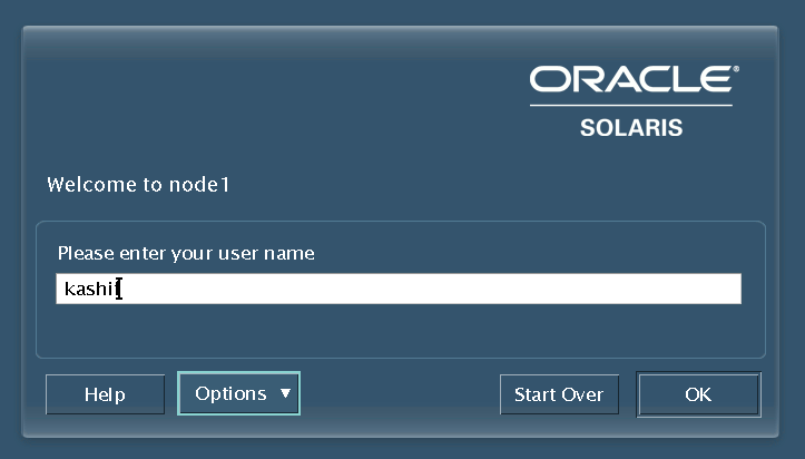 Solaris Login