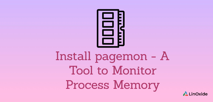 Pagemon - Tool to Monitor Memory Map of Running Process