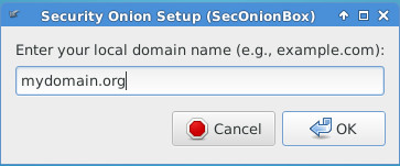 Set local domain