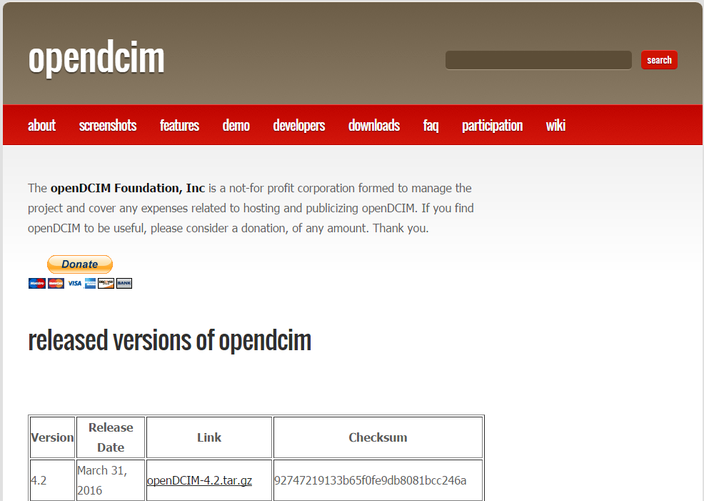 OpenDCIM Download