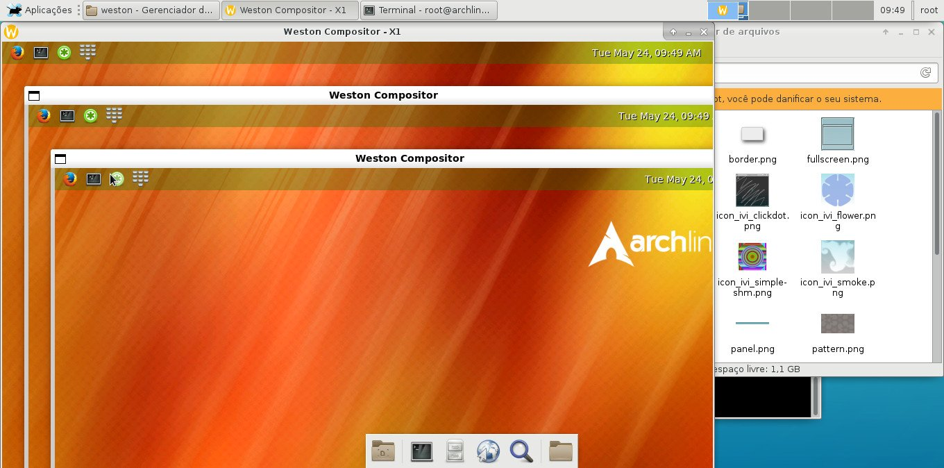 How to Run Wayland and Weston on Arch Linux