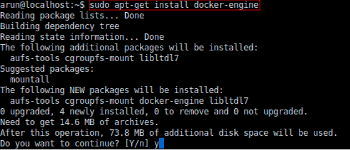 Installing Docker Engine