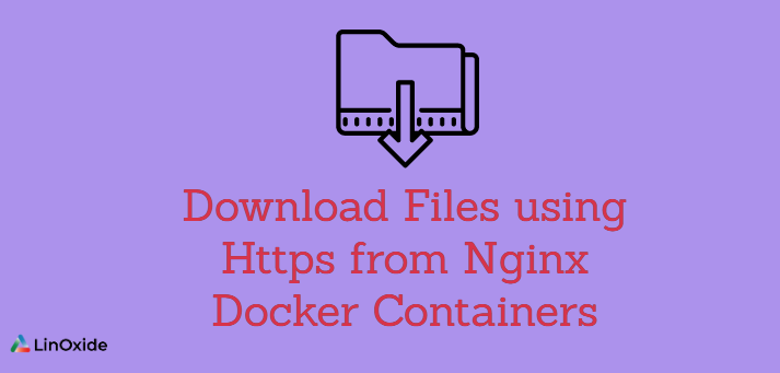 How to Download Files using Https from Nginx Docker Containers