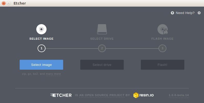 How to Run Etcher Image Writer on GUI and Linux CLI