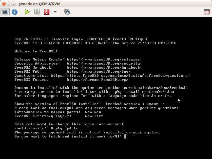 Updating freebsd 7 0